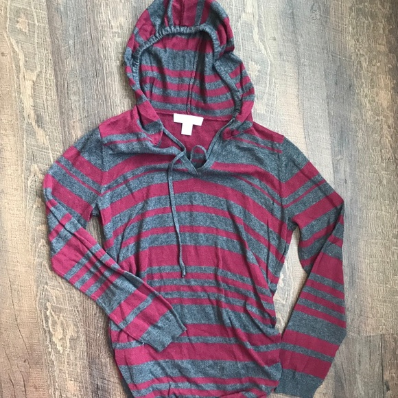 Motherhood Maternity Sweaters - Maternity hooded sweater